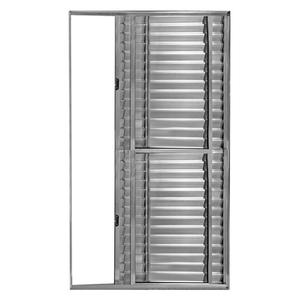 Porta Montada Balcão Veneziana de Alumínio 2,10x1,20m Atlântica
