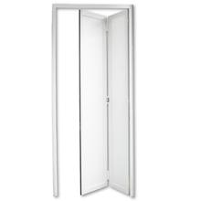 Porta Montada Camarão Vidro de Alumínio Direito Branco 0,68x2,15m 3A Alumínio