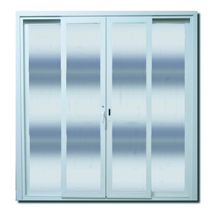Porta Montada com Proteção Térmica Balcão Lisa PVC 2,15x2,00m Selbach