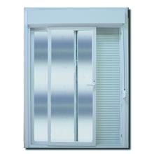Porta Montada com Proteção Térmica Balcão Lisa PVC 2,37x1,20m Selbach