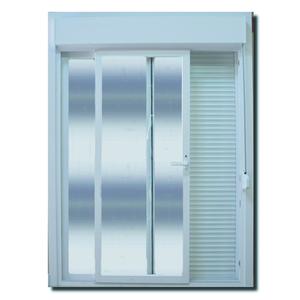 Porta Montada com Proteção Térmica Balcão Lisa PVC 2,37x2,00m Selbach