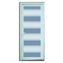 Porta Montada com Proteção Térmica de Giro Lisa PVC Direito 2,10x0,90m Selbach