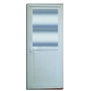 Porta Montada com Proteção Térmica de Giro Lambri PVC Direito 2,10x0,90m Selbach
