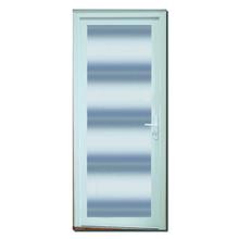 Porta Montada com Proteção Térmica de Giro Lisa PVC Esquerdo 2,10x0,90m Selbach