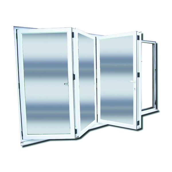 e2a5be3cd4c0d Porta Montada com Proteção Térmica Sanfonado Lisa PVC Direito 2,15x2,00m  Selbach
