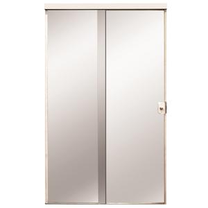 Porta Montada de Correr Lisa de Vidro Vidro Comum 2,10x1,20m Settis