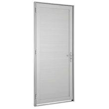 Porta Montada de Giro Decorada Metal Alumínio Direito 2,16x0,98m Alumifort Sasazaki