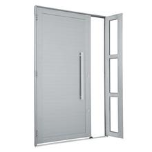 Porta Montada de Giro Decorada Metal Alumínio Direito 2,16x1,3m Sasazaki