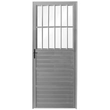 Porta Montada de Giro Postigo Metal Alumínio Direito 2,1x0,86m Fortline Atlântica