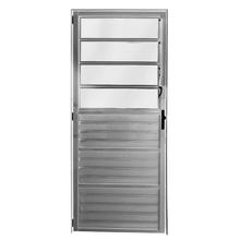 Porta Montada de Giro Basculante de Alumínio 2,10x0,86m Atlântica