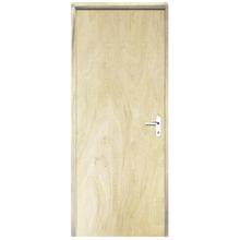 Porta Montada De Giro de Madeira Pinus Lisa 2,10x0,80m Direito  Esquadrias Sidney