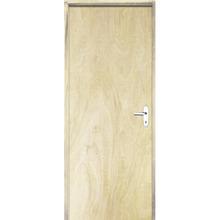 Porta Montada de Giro Lisa Madeira Pinus Esquerdo 2,1x0,60m Esquadrias Sidney