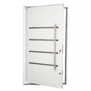 Porta Montada Pivotante Decorada Metal Alumínio Esquerdo 2,25x1,3m Gravia