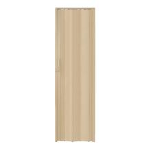 Porta Montada Sanfonada Lisa de Plástico PVC 2,10x0,60m Artens