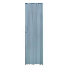Porta Montada Sanfonada Lisa de Plástico PVC 2,10x0,72m Artens