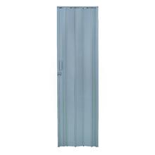 Porta Montada Sanfonada Lisa de Plástico PVC 2,10x0,84m Artens