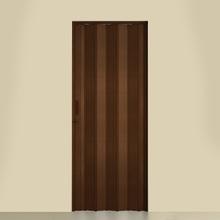 Porta Montada Sanfonada de Plástico PVC Ambos os Lados 2,1x0,72m Artens