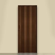 Porta Montada Sanfonada de Plástico PVC Ambos os Lados 2,1x0,96m Artens