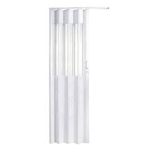 Porta Montada Sanfonado de PVC Artico 2,10x0,70cm Hoggan