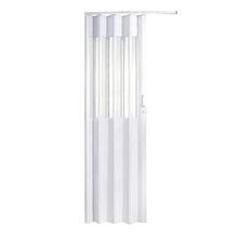Porta Montada Sanfonado de PVC Artico 2,10x0,82cm Hoggan