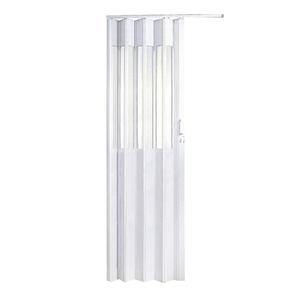 Porta sanfonada lisa pl stico pvc ambos os lados 2 1x0 82m - Porta pvc leroy merlin ...