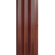 Porta Montada Sanfonado de PVC Caoba 2,10x0,73cm Hoggan