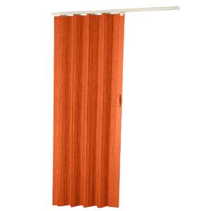Porta Montada Sanfonado de PVC Cerejeira 2,10x0,70cm Hoggan