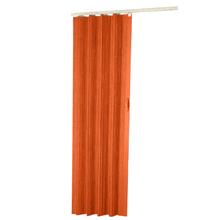 Porta Montada Sanfonado de PVC Cerejeira 2,10x0,90cm Hoggan
