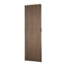 Porta Montada Sanfonado de PVC Espresso 2,10x0,70cm Hoggan