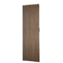 Porta Montada Sanfonado de PVC Espresso 2,10x0,90cm Hoggan