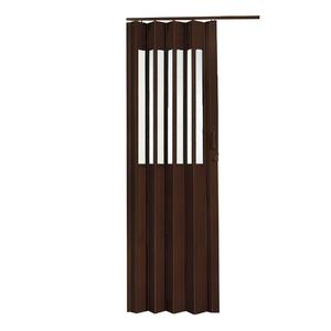 Porta Montada Sanfonado de PVC Wengue 2,10x0,70cm Hoggan