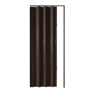 Porta Montada Sanfonado de PVC Wengue 2,10x0,84cm Hoggan