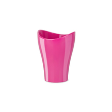 Porta Objeto de Banheiro Plástico Redondo Curvino Pink Sensea