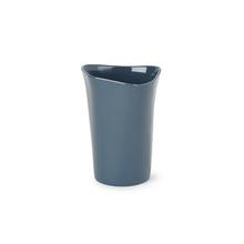 Porta Objeto de Banheiro Plástico Redondo Orvino Night Blue Sensea