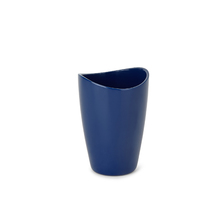 Porta Objeto de Banheiro Plástico Redondo Torina Dark Blue Sensea