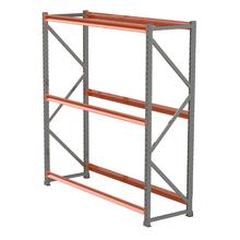 Porta Pallet Metal 120x60x200cm 500Kg Kit Cintin S.A