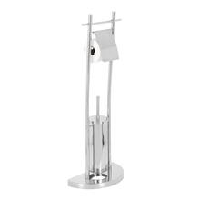 Porta Papel Higiênico com Escova Sanitária  Simples Draco Sensea