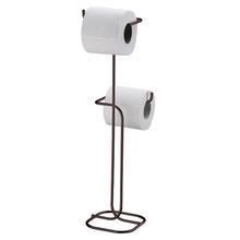 Porta Papel higiênico de Chão Duplo Metal Onix Future