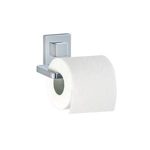 Porta Papel Higiênico Metal e Plástico Simples Vaccum Quadro Wenko