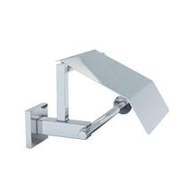 Porta Papel Higiênico Metal Simples Atrio Prata Fani
