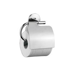 Porta Papel Higiênico Simples Metal Escovado Suite Sensea
