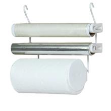 Porta Rolo para Papel Toalha Branco Metaltru