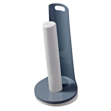 Porta Papel Toalha Sobre Pia Plástico Preto e Branco Double Arthi