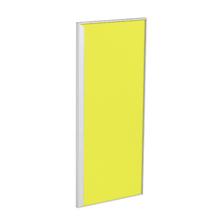 Porta para Cozinha Lille Alumínio e Vidro Amarelo F30/70