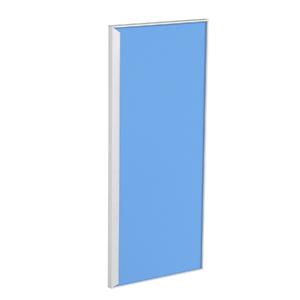 Porta para Cozinha Lille Alumínio e Vidro Light Azul F30/71