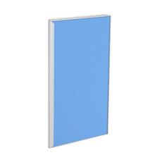 Porta para Cozinha Lille Alumínio e Vidro Light Azul F40/71