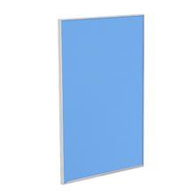 Porta para Cozinha Lille Alumínio e Vidro Light Azul F45/71