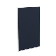 Porta para Cozinha Lille Alumínio e Vidro Preto Azul F45/71