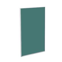 Porta para Cozinha Lille Alumínio e Vidro Preto Verde F45/71