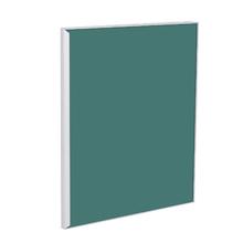 Porta para Cozinha Lille Alumínio e Vidro Preto Verde F50/71